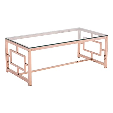 Zuo Modern Geranium Coffee Table Rose Gold (WC100184)