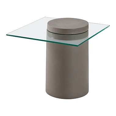 Zuo Modern – Table d'appoint Monolith (WC100194)