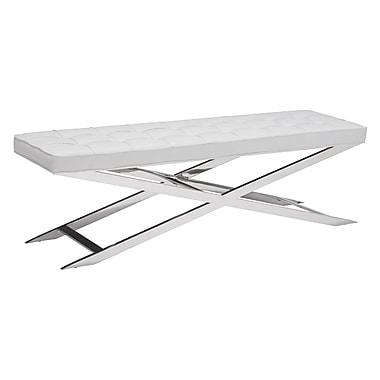 Zuo Modern Pontis Bench White (WC100337)