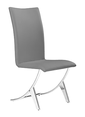 Zuo Modern Delfin Dining Chair Gray (Set of 2) (WC102106)