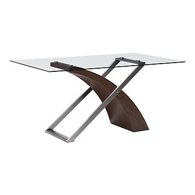 Zuo Modern – Table de salle à manger Outremont, noyer (WC107861)