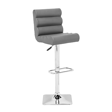 Zuo Modern Nitro Bar Chair Gray (WC301380)