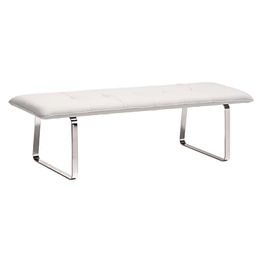 Zuo Modern Cartierville Bench White (WC500178)
