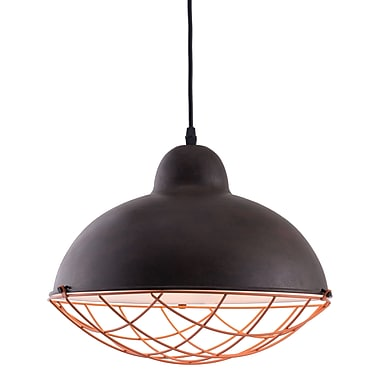 Zuo Modern Kong Ceiling Lamp Distressed Black (WC56017)