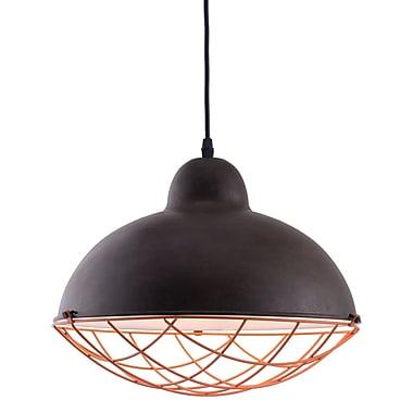 Zuo Modern – Lampe de plafond Kong, noir vieilli (WC56017)
