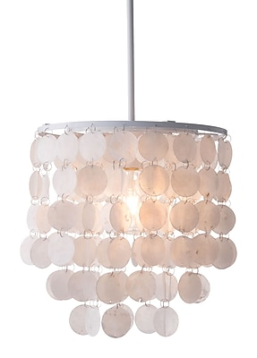 Zuo Modern Shell Ceiling Lamp White (WC56021)