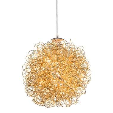Zuo Modern Zitto Ceiling Lamp Gold (WC56030)