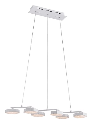 Zuo Modern Dunk Ceiling Lamp White (WC56031)