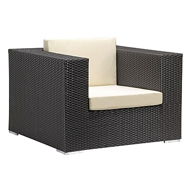 Zuo Modern Cartagena Arm Chair Espresso (WC703654)