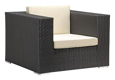 Zuo Modern Cartagena Arm Chair Espresso (WC703654)