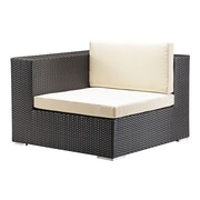 Zuo Modern Cartagena Corner Chair Espresso (WC703655)