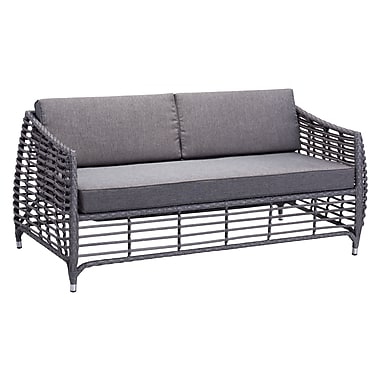 Zuo Modern – Sofa Wreak Beach, gris (WC703645)