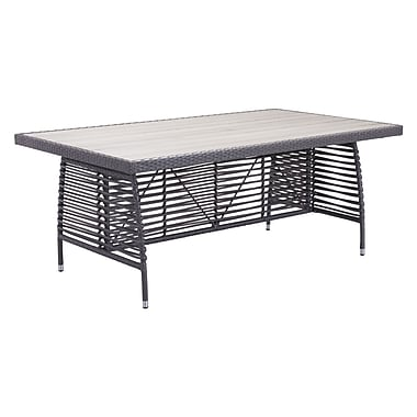 Zuo Modern Sandbanks Dining Table Gray (WC703533)