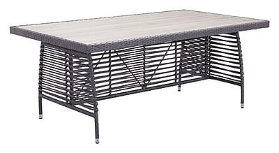 Zuo Modern Sandbanks Dining Table Gray (WC703533)