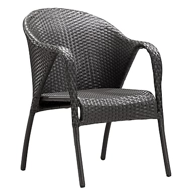 Zuo Modern Montezuma Chair Espresso, 2/Pack (WC701362)