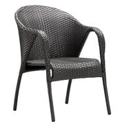 Zuo Modern Montezuma Chair Espresso (Set of 2) (WC701362)