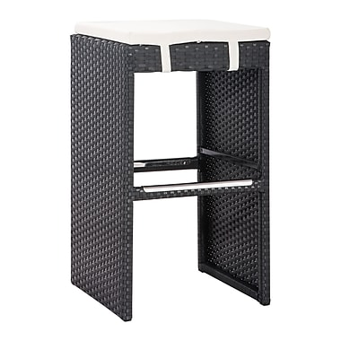 Zuo Modern – Tabouret de bar Marrakesh, espresso (WC703648)