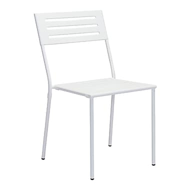 Zuo Modern Wald Dining Chair White, 2/Pack (WC703608)