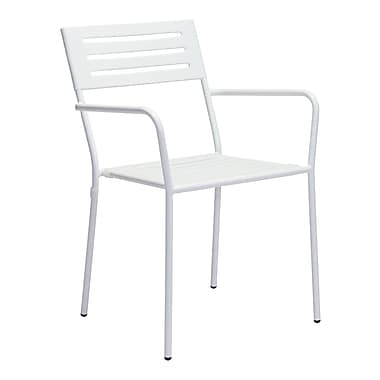 Zuo Modern Wald Dining Arm Chair White, 2/Pack (WC703610)