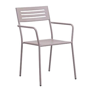 Zuo Modern – Chaise de salle à manger avec accoudoirs Wald