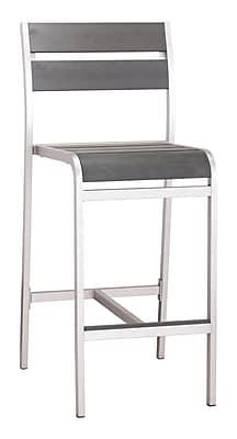 Zuo Modern Megapolis Bar Armless Chair (Set of 2) (WC703186)
