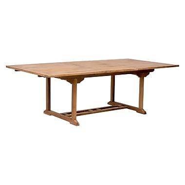 Zuo Modern – Table de salle à manger à extension Regatta (WC703552)