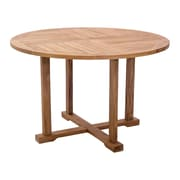 Zuo Modern – Table de salle à manger Regatta, naturel (WC703548)