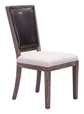 Zuo Modern Market Dining Chair Brown & Beige (Set of 2) (WC98379)