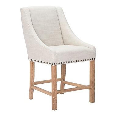 Zuo Modern Indio Counter Chair Beige (WC98603)