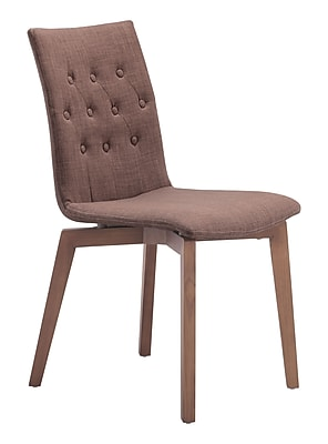 Zuo Modern Orebro Dining Chair Tobacco (Set of 2) (WC100070)