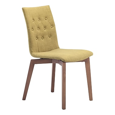 Zuo Modern Orebro Dining Chair Pea, 2/Pack (WC100072)