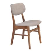 Zuo Modern Midtown Dining Chair Dove Gray (Set of 2) (WC100111)