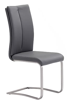 Zuo Modern Rosemont Dining Chair Gray (Set of 2) (WC100138)