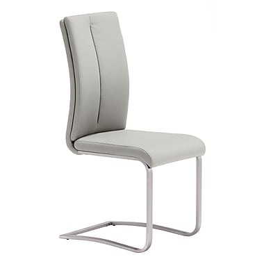 Zuo Modern Rosemont Dining Chair Taupe, 2/Pack (WC100139)