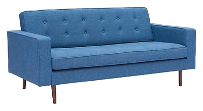 Zuo Modern Puget Sofa Blue (WC100220)