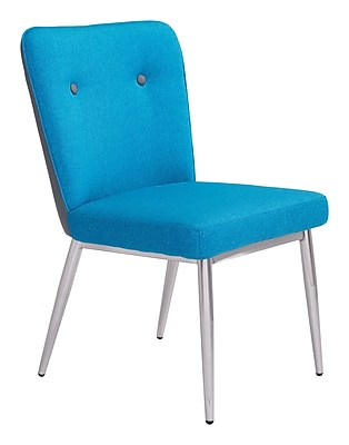 Zuo Modern Hope Dining Chair Blue/Gray (Set of 2) (WC100239)