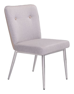 Zuo Modern Hope Dining Chair Khaki (Set of 2) (WC100240)