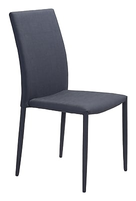 Zuo Modern Confidence Dining Chair Black (Set of 4) (WC100243)