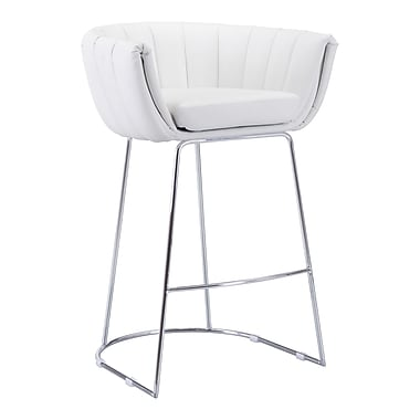 Zuo Modern – Chaise de bar Latte