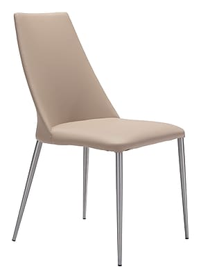 Zuo Modern Whisp Dining Chair Beige (Set of 2) (WC100265)
