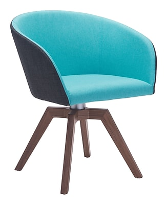 Zuo Modern Wander Dining Chair Blue/Gray (Set of 2) (WC100268)