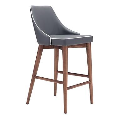 Zuo Modern Moor Counter Chair Dark Gray (WC100280)