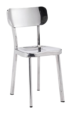 Zuo Modern Winter Chair Stainless Steel (Set of 2) (WC100301)