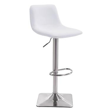 Zuo Modern Cougar Bar Chair White (WC100313)