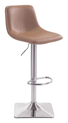 Zuo Modern Cougar Bar Chair Taupe (WC100314)