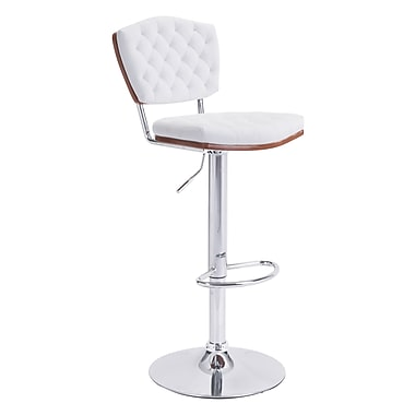 Zuo Modern Tiger Bar Chair White (WC100316)