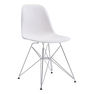 Zip Dining Chair White (WC100322)