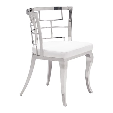 Quince Dining Chair White, 2/Pack (WC100332)