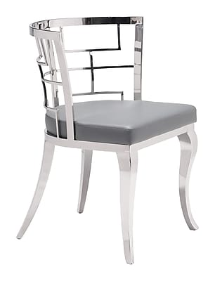 Zuo Modern Quince Dining Chair Gray (Set of 2) (WC100333)