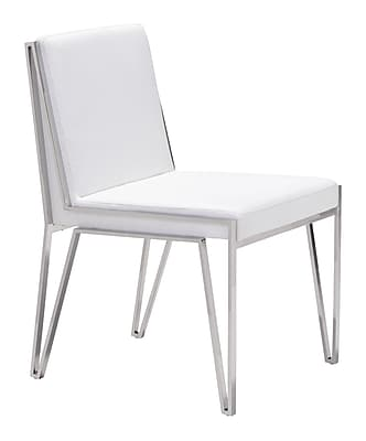 Zuo Modern Kylo Dining Chair White (Set of 2) (WC100334)